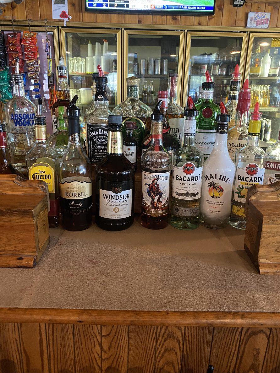 Bar at TJ's Timberlinea