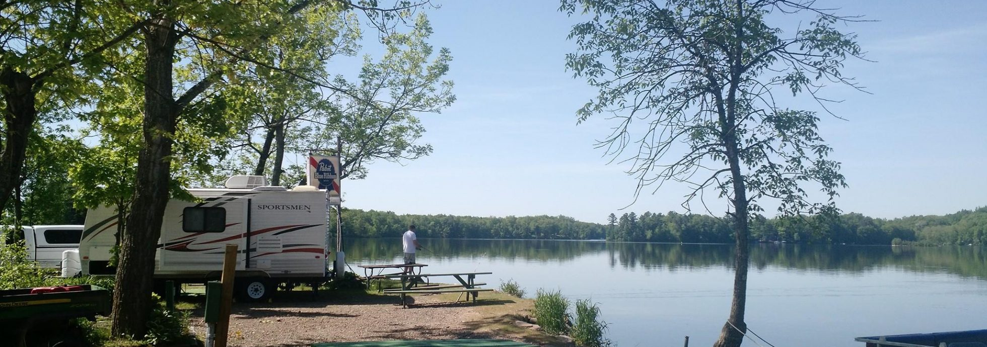 TJ's Timberline Campground in Chetek, WI